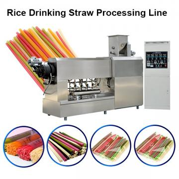 Automatic Rice Straw Production Machine Line Pasta Straw Making Machine Plant