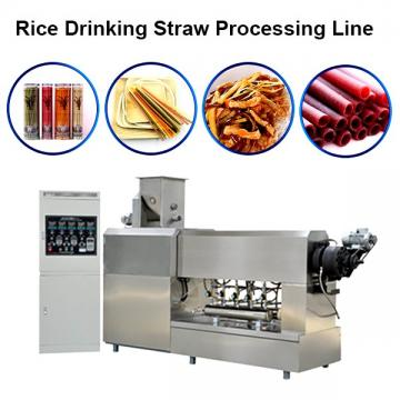 Rice Flour Straw Extruder Machine