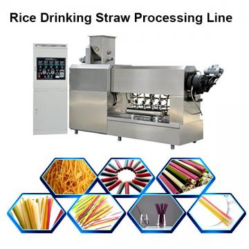 Wheat Drinking Straw Machine / Rice Drink Straw Line Machine Price