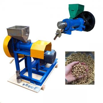 Manufacturer Floating Fish Feed Food Pellet Making Machine