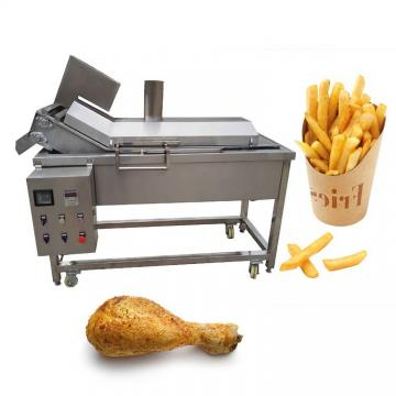 Potato Chip Machine Snack Food Deep Fryer Peanut Pea French Fries Frying Machine