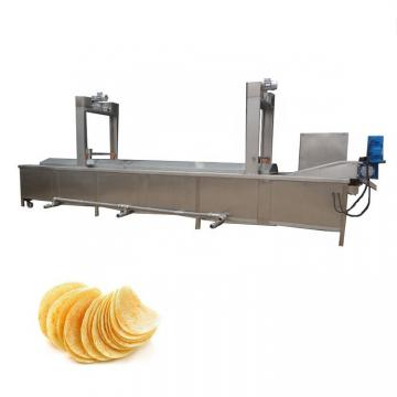 2 Rows Bigger Capacity Electric Automatic Donut Fryer Machine for Donut Making