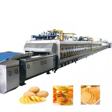 Fully Automatic Potatoes Chips Production Line Making Machine