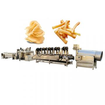 Semi-Automatic Fryer Fried Potato Corn Chips Snacks Making Machine Price