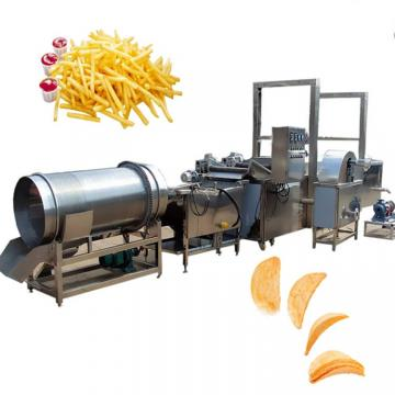 50kg/H Small Scale Semi-Automatic Potato Chips Making Machine Price