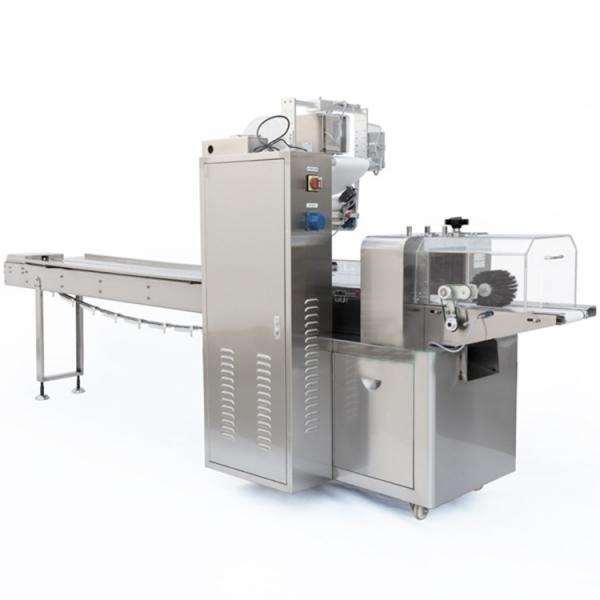 Food Cookie Candle Book Ice Cream Screw Bread Cake Candy Gloves Soap Horizontal Packing Wrapping Flow Pack Machine